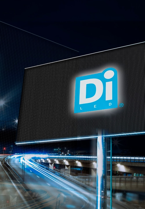DiLED LED screen mainostaulu