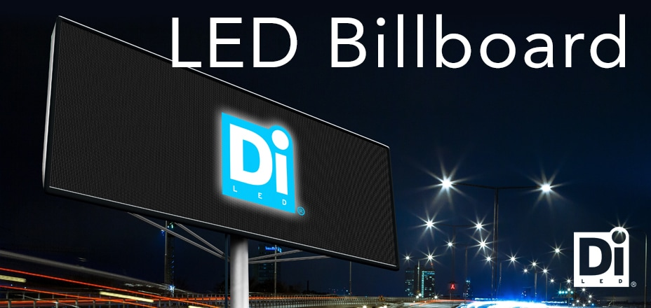 DiLED Led Billboard tienvarsimainos